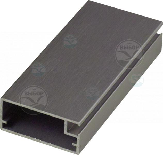 Фасадный алюминиевый профиль Z-12 Zobal  L-3500мм INOX